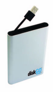 DiskGo® Portable USB Hard Drive